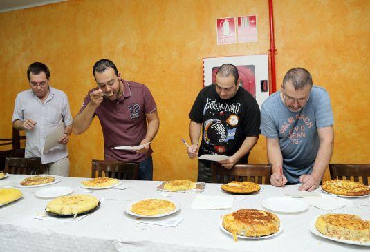 Jurado Concurso de Tortilla Interpeñas