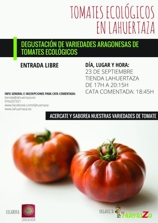 Cata de Tomates en La Huertaza