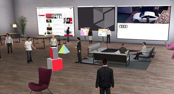 """Transformación digital: """"Audi spaces"""" permite trabajar en un espacio virtual"""