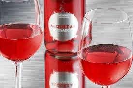 Alquezar rosado copas