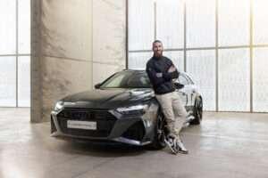 Entrega de Audi a Sergio Ramos