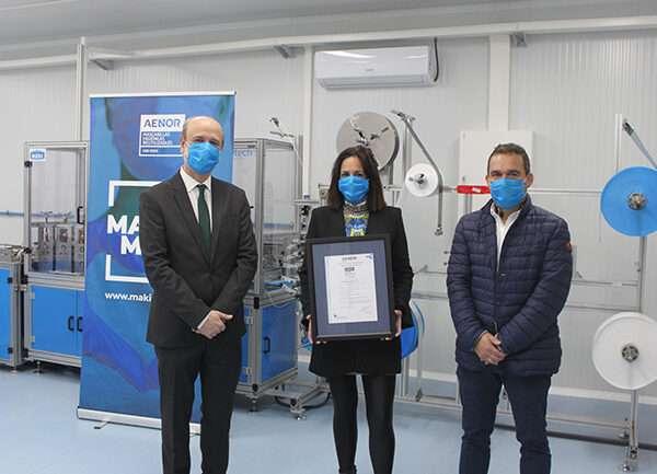 Making Mask, primera empresa española en certificar sus mascarillas higiénicas reutilizables con AENOR