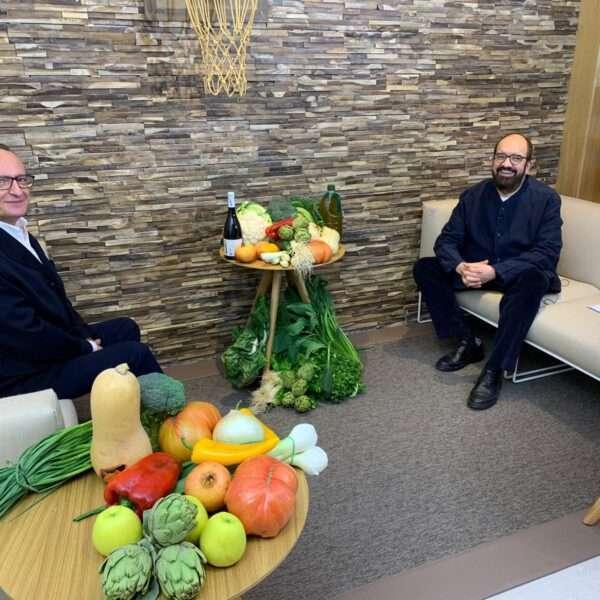 Florentino Fondevila visita el canal de Youtube de la Alianza Agroalimentaria Aragonesa