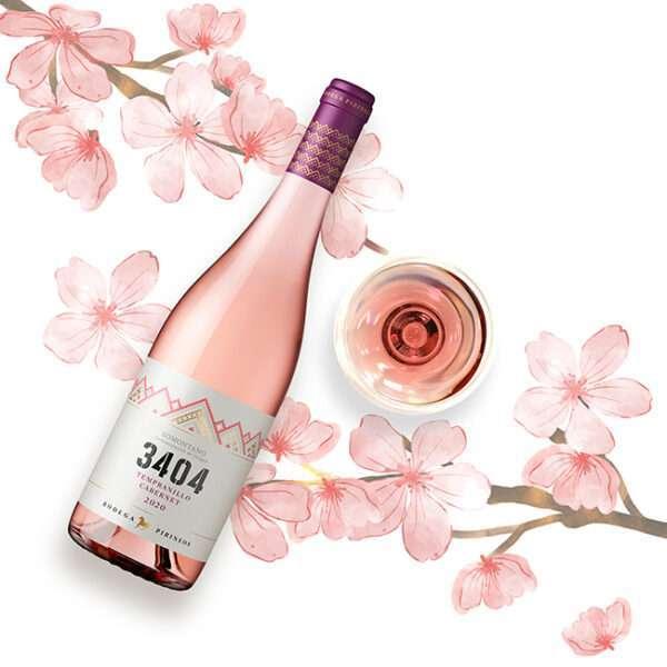 Bodega Pirineos presenta 3404 Rosado 2020, un vino de tendencia