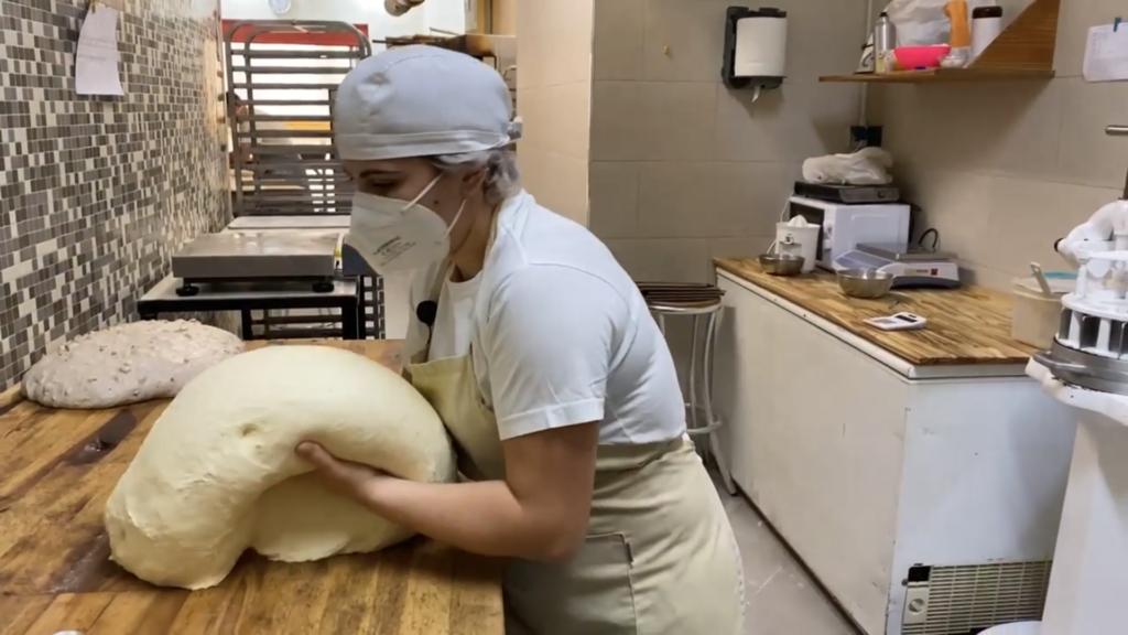 Proceso de fabricacion del pan de masa madre