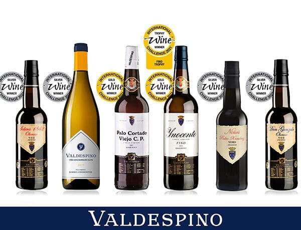 Valdespino triunfa en los premios de la International Wine Challenge