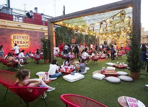 Beefeater gardens: el plan urbano más refrescante que te hará olvidar la playa