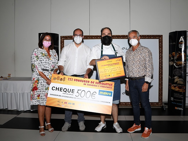 La croqueta Ibérico Hanoi, de Café Nolasco, elegida la mejor de la provincia de Zaragoza 2021