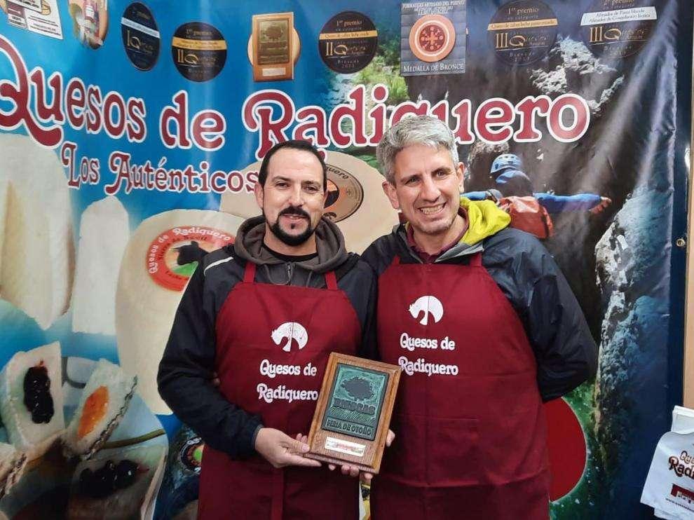 El queso Río Vero, campeón en Biescas