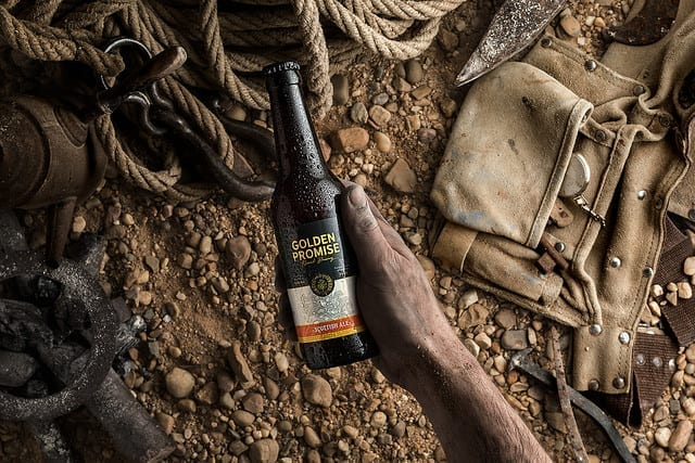 Cervezas artesanas Golden Promise