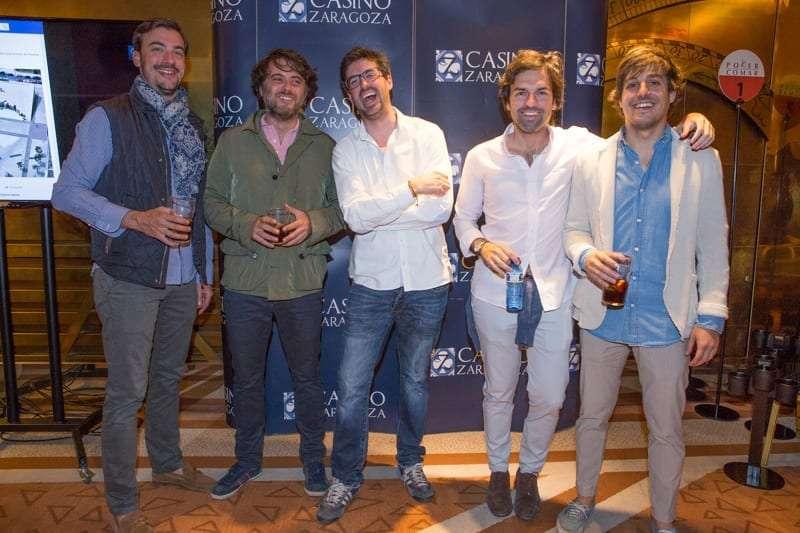 Encuentro de famosos en la presentación de Enjoy Zaragoza