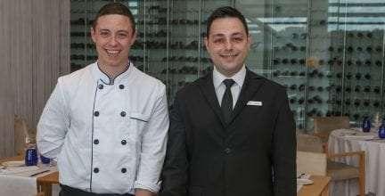 El restaurante Celebris estrena equipo y nuevos menús para esta primavera