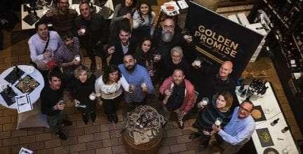 Boris de Mesones, padrino de Golden Promise, la nueva cerveza gourmet nacida entre Zaragoza y Nueva York