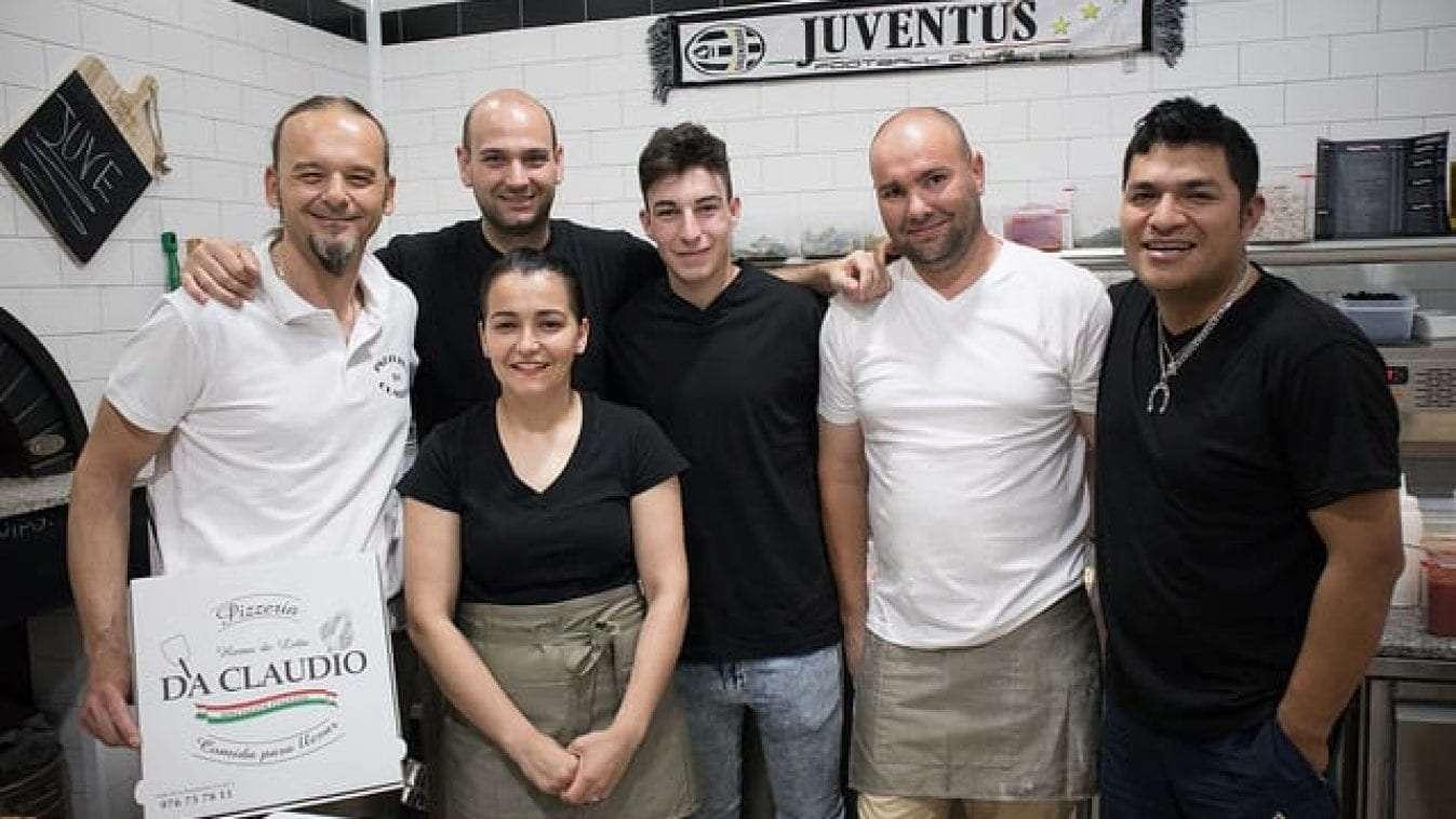 Nuevo local de Pizzería Da Claudio. Posiblemente las mejores pizzas de la ciudad