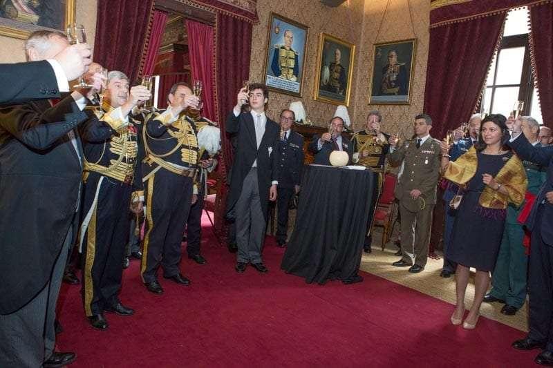 La Real Maestranza de Caballería celebra San Jorge