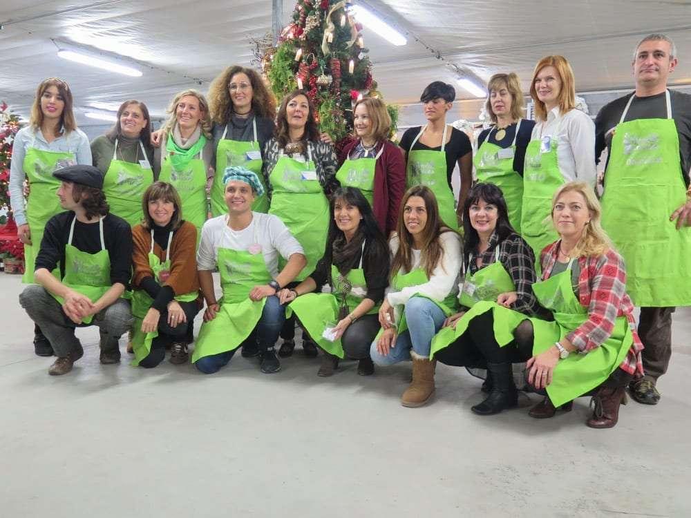 Viveros Ordovás inicia la Navidad con un evento de carácter solidario a favor de ARAPRODE