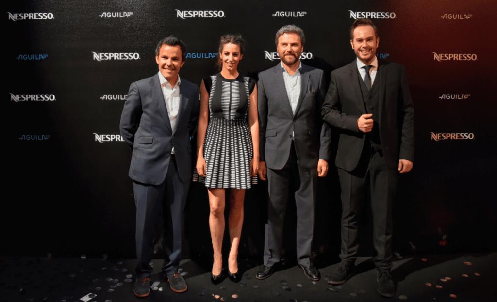 Nespresso_Aguila_JaimeDelaRica_AlmudenaCid_JorgeBlass_FedericoFriedsch