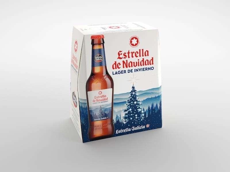 Una Lager de invierno firmada por  Estrella Galicia
