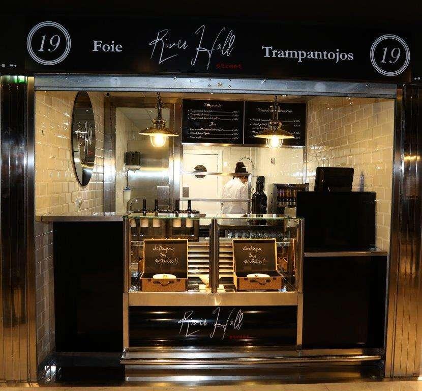 El restaurante zaragozano River Hall también tiene su propio espacio en Puerta Cinegia Gastronómica