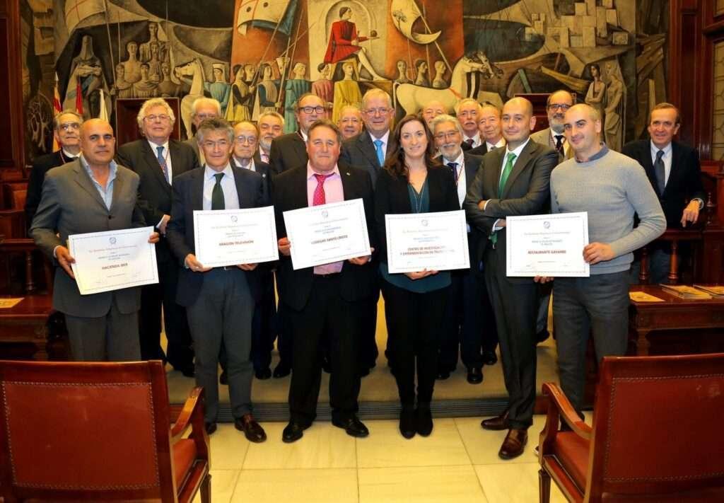 Premiados Academia de Gastronomia Aragonesa