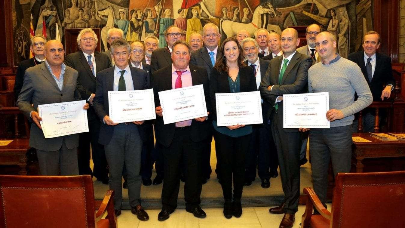 Premios Anuales de la Academia Aragonesa de Gastronomía