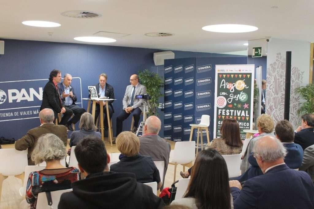 Aragón con Gusto presentación en Madrid