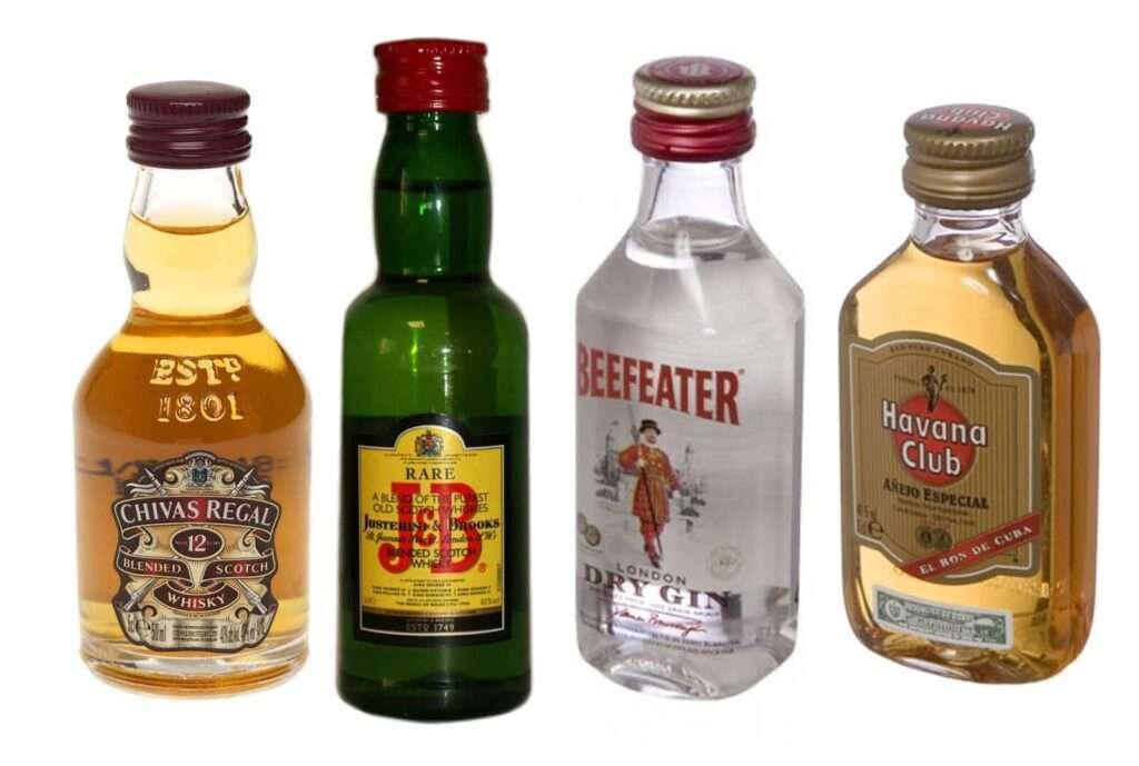 Botellas Mini-bar