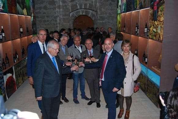 brindis inauguracion museo de Calatayud