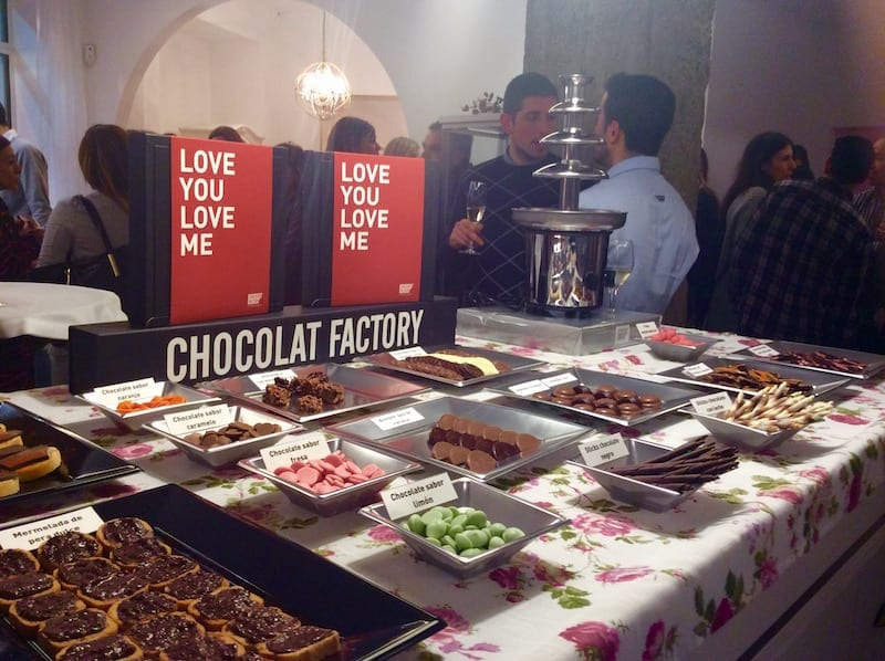 Candy Bar de Chocolat Factory
