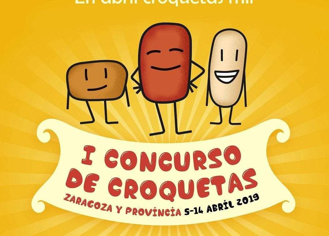 Todo listo  para el I Concurso de Croquetas  de la provincia de Zaragoza