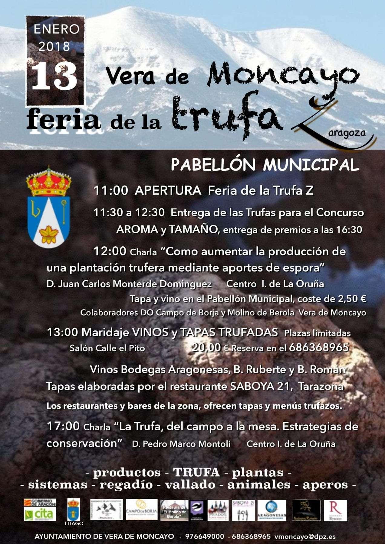 Cartel II edición Feria Vera de Moncayo