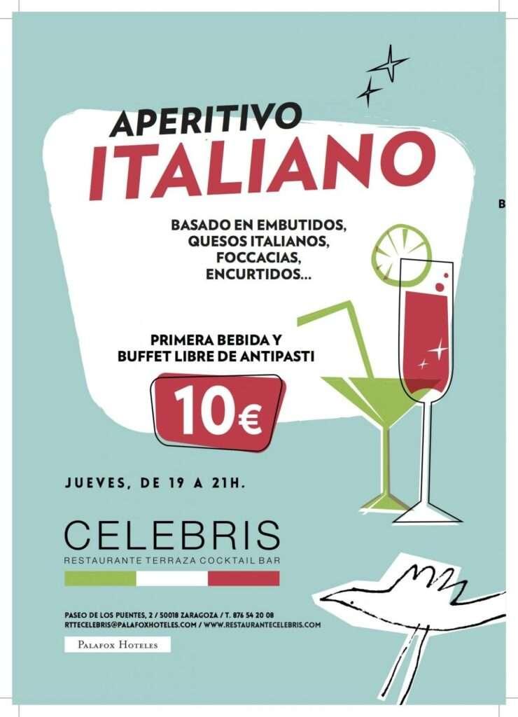 CELEBRIS APERITIVO ITALIANO