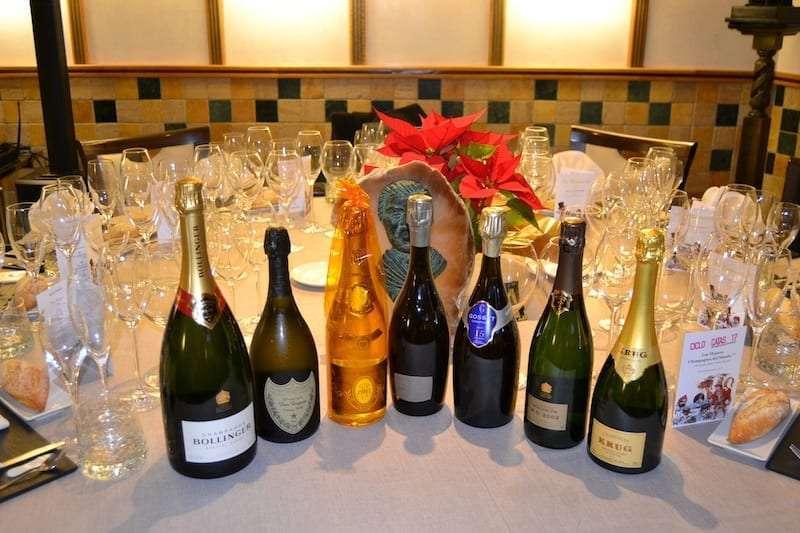 grupo los Cabezuos champagne