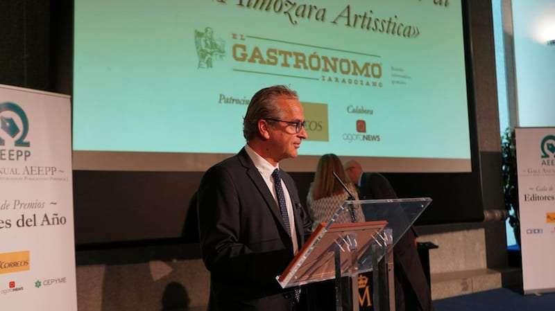 'El Gastrónomo Zaragozano', premio de la AEEPP al mejor periódico de España de reparto gratuito