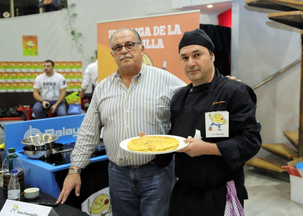 La de Casa Pascualillo,  mejor tortilla de patata 2017
