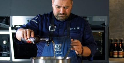 Ambar Export reta a 1600 «Foodies Cerveceros» de la  mano del chef Antonio Arrabal