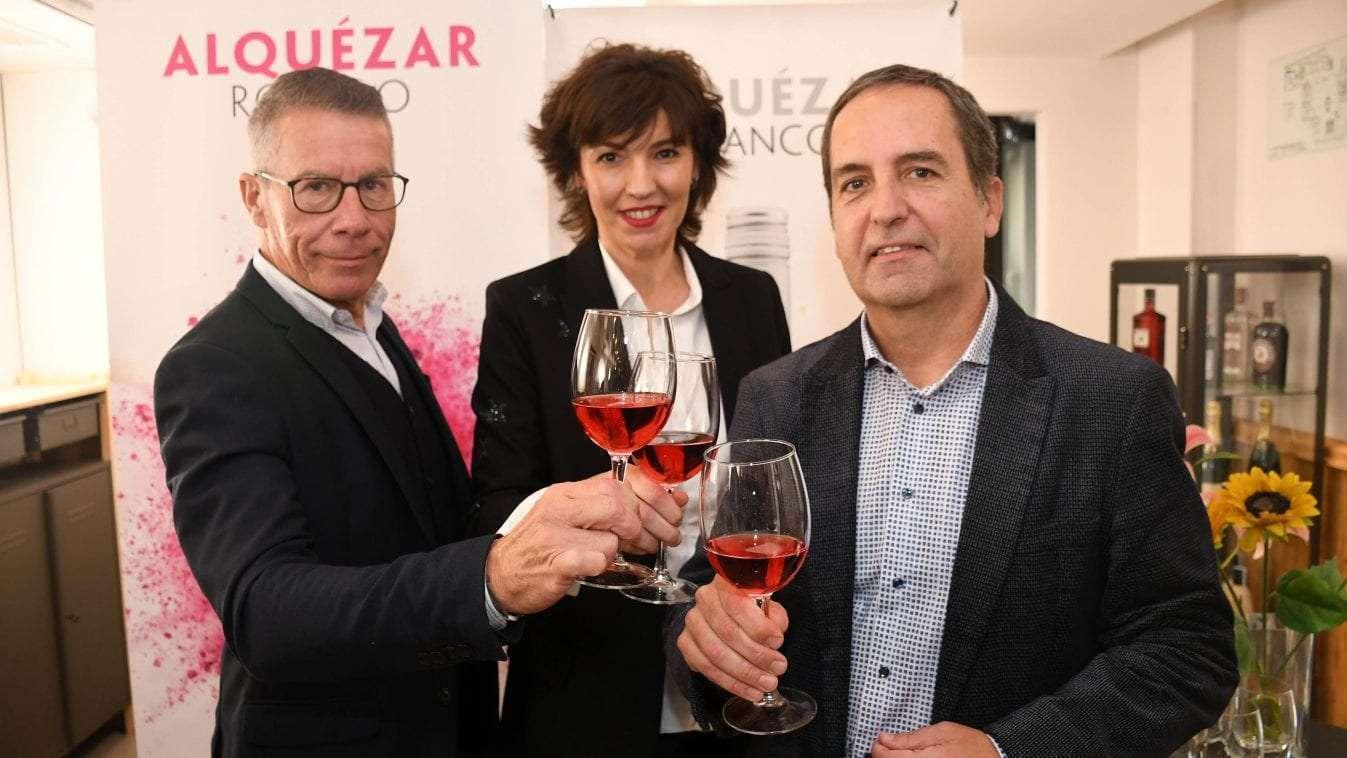 Bodega Pirineos presenta Alquézar Rosado 2018  y el nuevo Alquézar Blanco