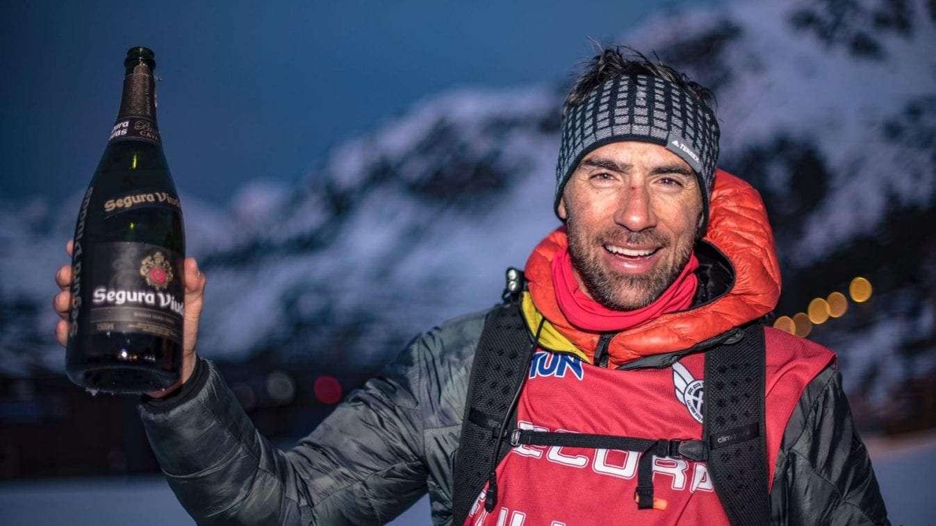 Luis Alberto Hernando esquía 81.780 metros verticales en Astún en 24 horas ininterrumpidas
