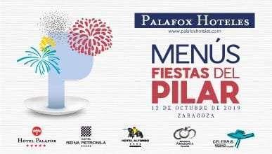 Palafox Hoteles se viste de fiesta para celebrar el Día del Pilar