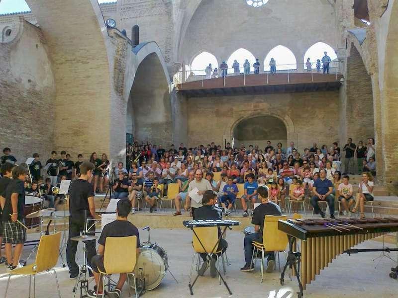 """La XX edición del encuentro Jóvenes Músicos """"Villa de Magallón"""" se desarrollará entre el 30 de junio y 6 de julio de 2019."""