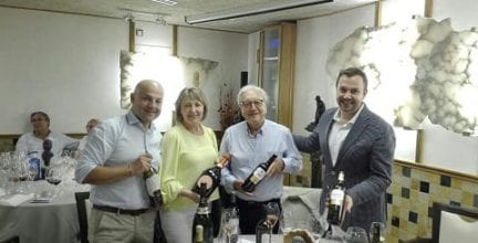 Experiencia Marqués de Riscal, Laurent Perrier en Los Cabuezudos