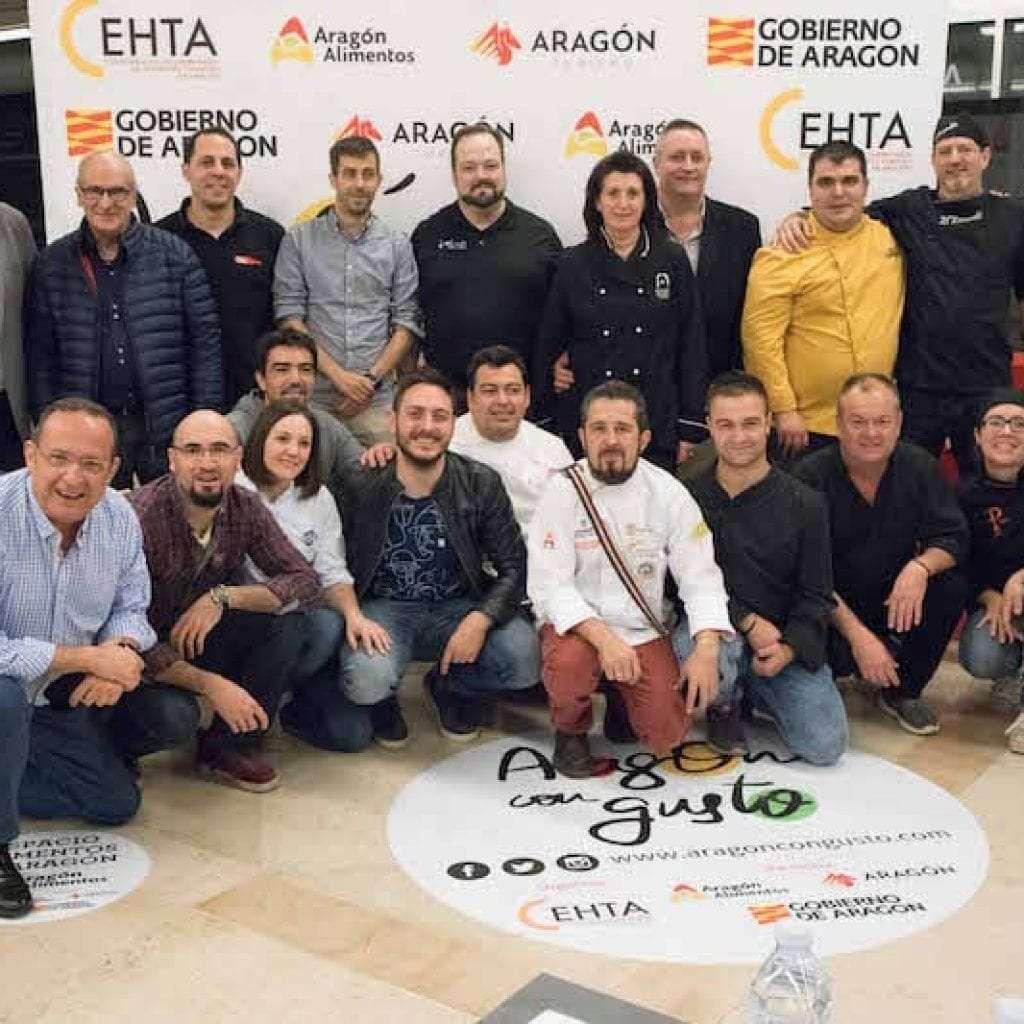 Concurso de Tapas Aragon con Gusto