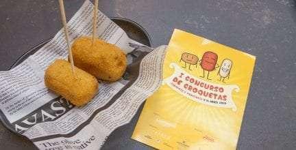Este viernes arranca el I Concurso de Croquetas de la provincia de Zaragoza, en los 58 establecimientos participantes