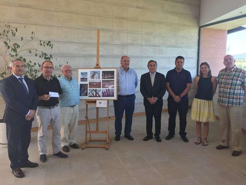 BODEGA ENATE DONA 7.185€ AL ROTARY CLUB DE HUESCA PARA LA  FUNDACIÓN AGUSTÍN SERRATE DE HUESCA