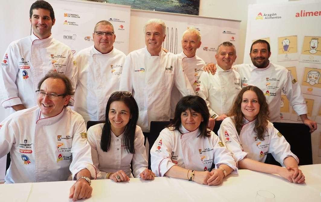 Aragón acoge el V Certamen Nacional de Gastronomía, donde se elegirá  al Mejor Cocinero y al Mejor Repostero de España
