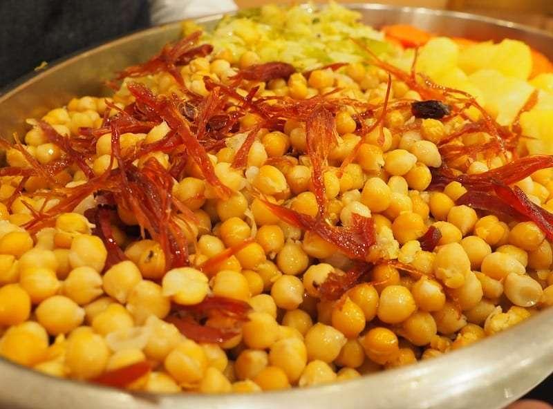 Ruta del cocido en Aragon bodegas Carlos  Valero