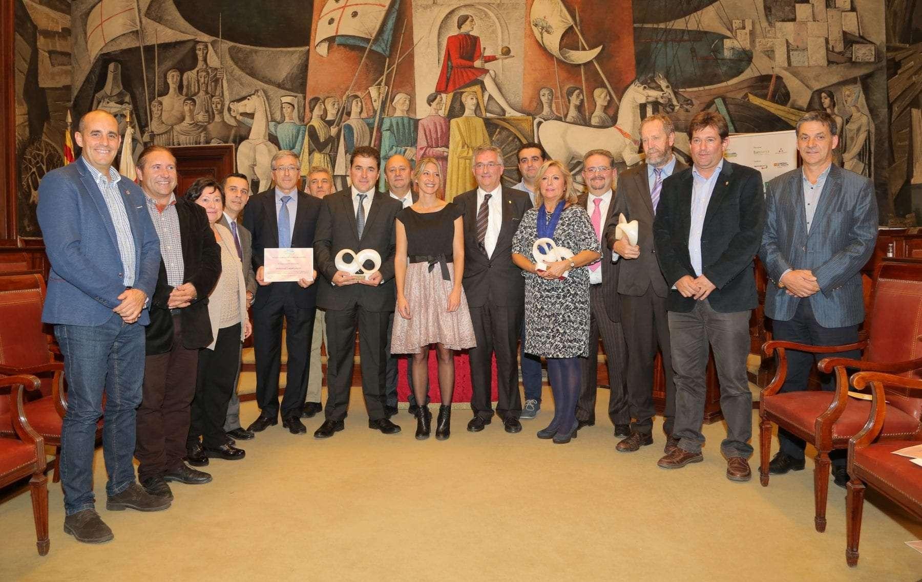 La Alianza Agroalimentaria Aragonesa entregó ayer sus premios anuales