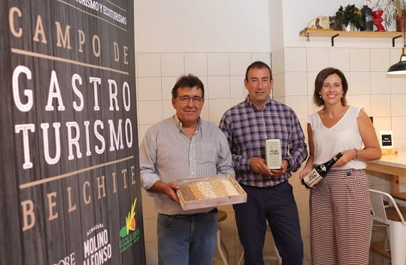 EL VINO, EL ACEITE DE OLIVA Y LA AGRICULTURA  ECOLÓGICA, PRINCIALES RECLAMOS DE GASTROTURISMO    CAMPO DE BELCHITE