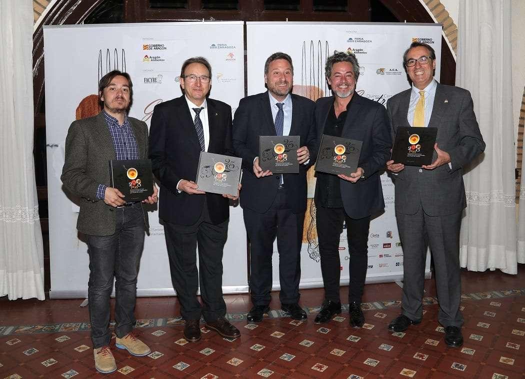 Cocineros de Aragon 25 aniversario