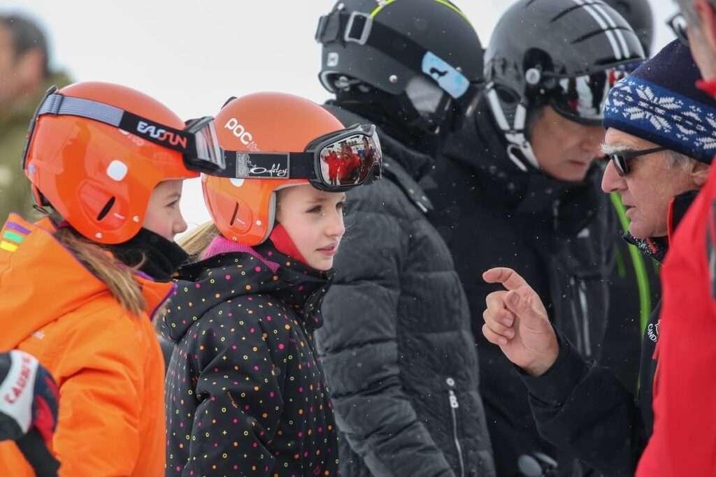 La Familia Real visita el 100K Astún - Candanchú